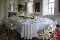 Také na zámku Krásný Dvůr proběhne v sobotu Hradozámecká noc. Ta bude věnovaná zámeckému stolování.