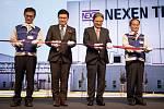 Slavnostní otevření továrny Nexen v zóně Triangle na Žatecku
