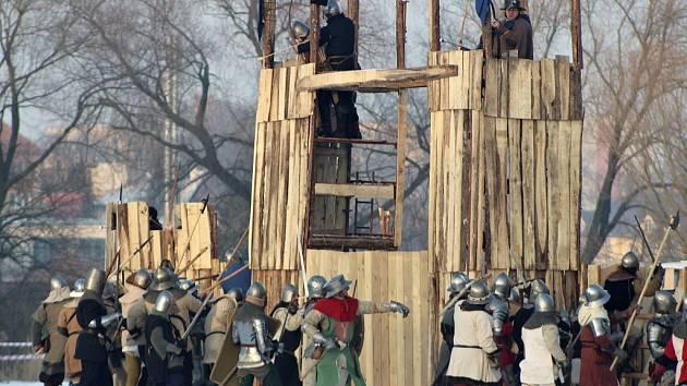 Zimní bitva v Podbořanech