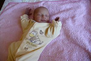 Gabriela Kytl se narodila mamince Anetě Kytl ze Žatce 12. října v 7.39 hodin. Vážila 2,94 kg, měřila 48 cm.