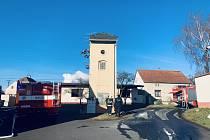 Hasiče zaměstnal požár rodinného domu v Břvanech na Lounsku.