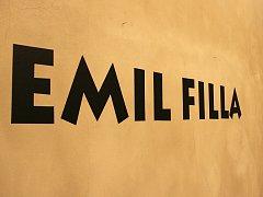 Výstava obrazů Emila Filly v Galerii Benedikta Rejta v Lounech.
