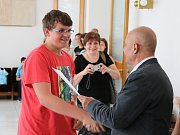 Celkové vítězství i první místo v kategorii devátých tříd svými znalostmi vybojoval Josef Pap ze ZŠ Školní Louny
