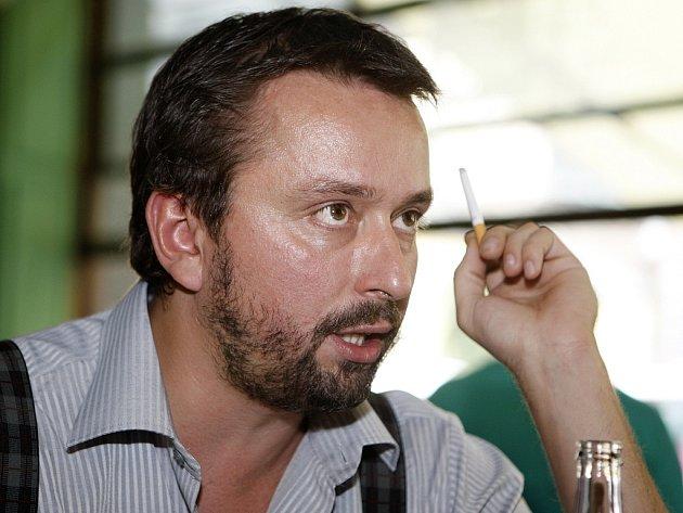 Herec Marek Daniel na archivním snímku