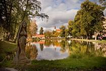 Podzim v Podbořanech.