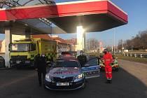 Převoz pěti pacientů s covidem ze Žatce do Brna.