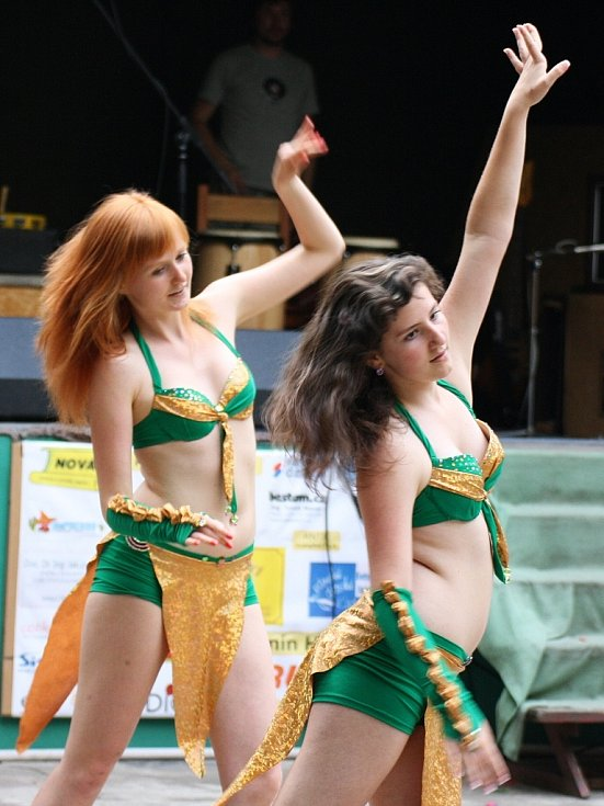 Představily se také tanečnice z lounské taneční školy