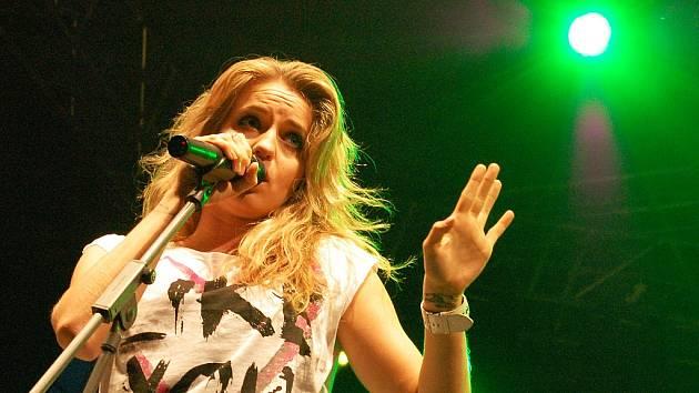 Gabriela Gunčíková na Rock for Žatec.