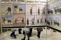 Výstava Opráski sčeskí historje v žateckém muzeu