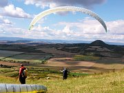 Paragliding na Rané u Loun