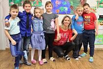 Prvňáci ze ZŠ Liběšice třídní učitelky Lenky Nuhlíčkové