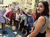 Den vody na zemědělské škole v Žatci.