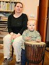 Asi nejmladším návštěvníkem byl dvouletý Michael Horník