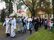 Na Mariánském poutním místě v Liběšicích se konala oslava jubilea 100 let od zjevení Panny Marie ve Fatimě v Portugalsku