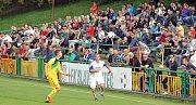 Na ostře sledované derby s týmem Loun, které se hrálo po pěti letech, přišla loni v září v Žatci rekordní návštěva - 750 diváků.