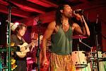 Ephraim Goldin (vpravo) a Bob Aves na Sletu bubeníků