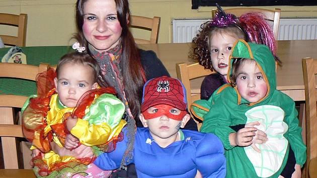 Halloweenská zábava pro děti v restauraci Chaloupka v Žatci.