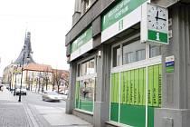 Městské informační středisko je v budově na rohu Pražské ulice a náměstí Míru.