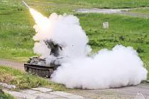 Střelba z protiletadlového kompletu S-10M