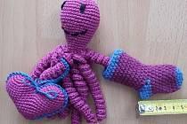 Jedna z chobotniček, které pomáhají nedonošeným dětem. Ilustrační foto