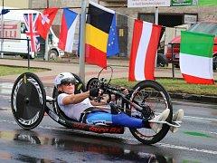 Závody European Handbike Circuit v Lounech
