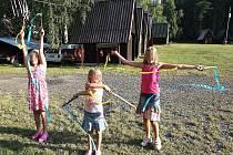 Děti na táboře v Žerotíně na archivním snímku. Ilustrační foto
