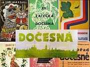 Historické plakáty na žateckou Dočesnou