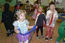 Karneval dětí MŠ U Jezu Žatec