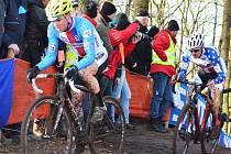 Závod U23 na MS cyklokrosu v Hoogerheide. Lounský Vojtěch Nipl dojel na 35. místě