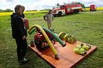 Dobrovolní hasiči v Kryrech na Podbořansku si na víkend připravili výcvik v požárním útoku.