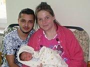 Damian Ondřej Gura se narodil 23. října 2017 v 01.10 hodin rodičům Elvíře Gura a Ondřeji Rostašovi z Podbořan. Vážil 3680 g a měřil 51 cm.