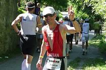 Miroslav Urban na závodě Ironman v německém Regensburgu. Archivní snímek