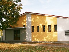 Kulturní dům v Bitozevsi. Právě u něj začaly problémy, které nakonec bývalého starostu přivedly až k policejnímu obvinění a k soudu.