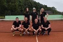 Tenisté Žatce hráli v Teplicích