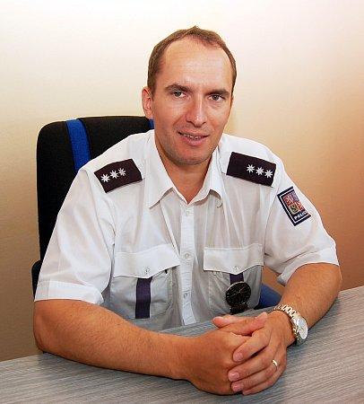 Jiří Král, vedoucí dopravních policistů vokrese Louny