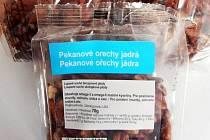 Jádra pekanových ořechů