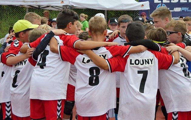 Mladí lounští házenkáři na turnaji vLiberci