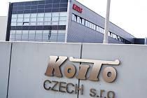 Závod firmy Koito v Žatci