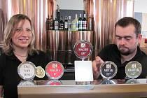 Minipivovar v Zichovci byl otevřen před dvěma lety. Příští rok by měl některá svá piva vařit v Lounech.