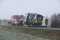 Nehoda autobusu u Blšan.