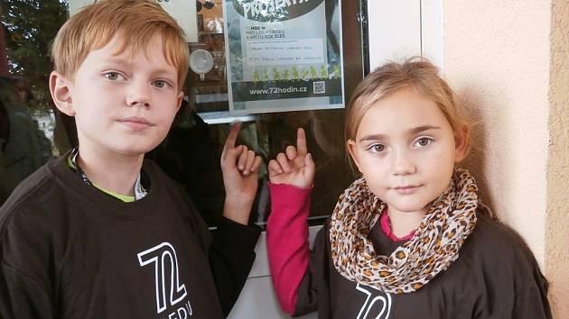 Školáci z Měcholup se zapojili do projektu s názvem 72 hodin