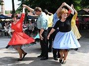 Své taneční umění předvedli klienti lounského stacionáře