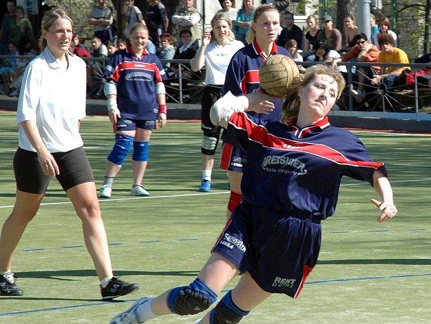 Nejlepší házenkářka ČR roku 2005 Zdeňka Bilohuščinová.