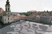 Nová podoba náměstí v Postoloprtech, jak ji navrhují architekti.