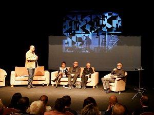 Představení projektu Sýkorovy mozaiky v lounském divadle