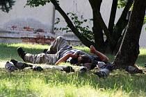 Bezdomovec. Ilustrační foto.