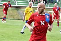 Jedenačtyřicetiletý fotbalista Patrik Gedeon dohrává kariéru v Chomutově