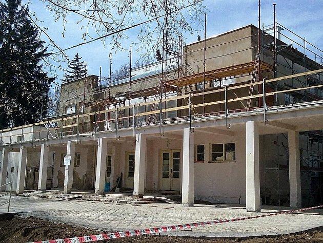 Pavilon Ana lounském výstavišti na archivním snímku