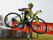 Vojtěch Nipl v závodu U23 na MS v Táboře