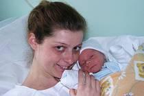 Mamince Veronice Gálové ze Žatce se 4. března 2014 narodil synek Adam Mašek. Vážil 2575 gramů.